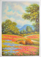 wall art decor museum quality beautiful scenery painting pictures