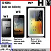 Quad-Core 7.85 inch IPS LCD WCDMA Double card double stay Tablet smart phone MTK6589