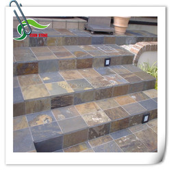 Natural Cheap Stone Outdoor Flooring Tile Slate Factory Price