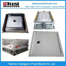 china various design smc bathroom floor mould fabrication