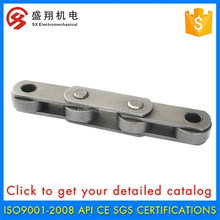 Alibaba China OEM Double Pitch Stainless Steel Conveyor Chain With Pad