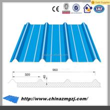 steel plate roof