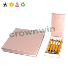 Private Custom Design Cardboard Package knife and fork Boxes