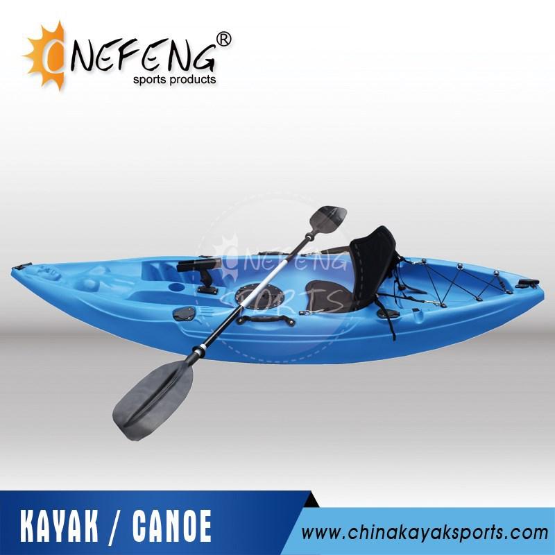Hard plastic kayak boat fishing for Small plastic fishing boats