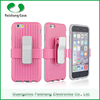 Neo hybrid cell phone armor case PC+Silicon Smartphone Support clip 8 colors for iphone 6 / 5 / 4