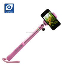 Hot sell extendable handed Selfie stick with Bluetooth in the handle for smart phone and go pro-Leofoto QP94P