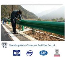 hot dip galvanized Highway Guardrail /AASHTO M180 Standard