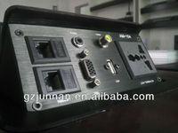 110-220V desktop socket with 2 data port