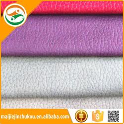 2015 Good Quality Imitated PU Microfiber Faux Leather, Alcantara Leather Fabric