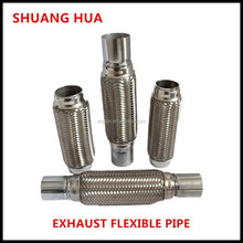 flexible exhaust pipe, stainless steel 201/304 , bellows with joints