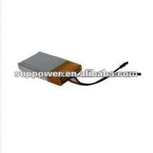 nickel iron battery 3.7v 350mAh li polymer battery