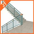 cintura tubo do corrimão da escada
