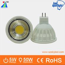 MR16 12V led spot light bulb 5W DC12V