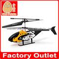 26cm 2.5 de metal helicóptero ch rc con la luz