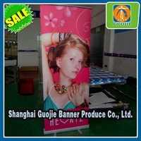 Luxury Aluminum Alloy Roll Up Banner , Roll Up Stand