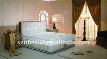 luxury living room furniture set latex foam mattress
