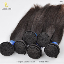 2015 New Arrival Large Stock Natural Color Unprocessed Virgin Remy Soft raw natural straight brazilian hair
