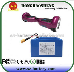smart self balancing electric scooter 6.5 inch