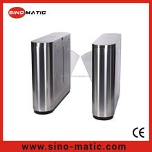 Access Control Bi-direction Flap barrier gate integration system