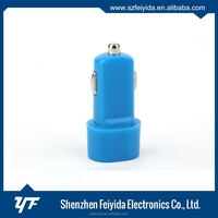 2015 new design blue car battery charger for mobile phone