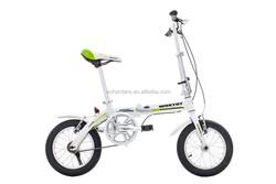 "14"" Wheel Size mini kid pocket bike factory direct price sports folding bike"