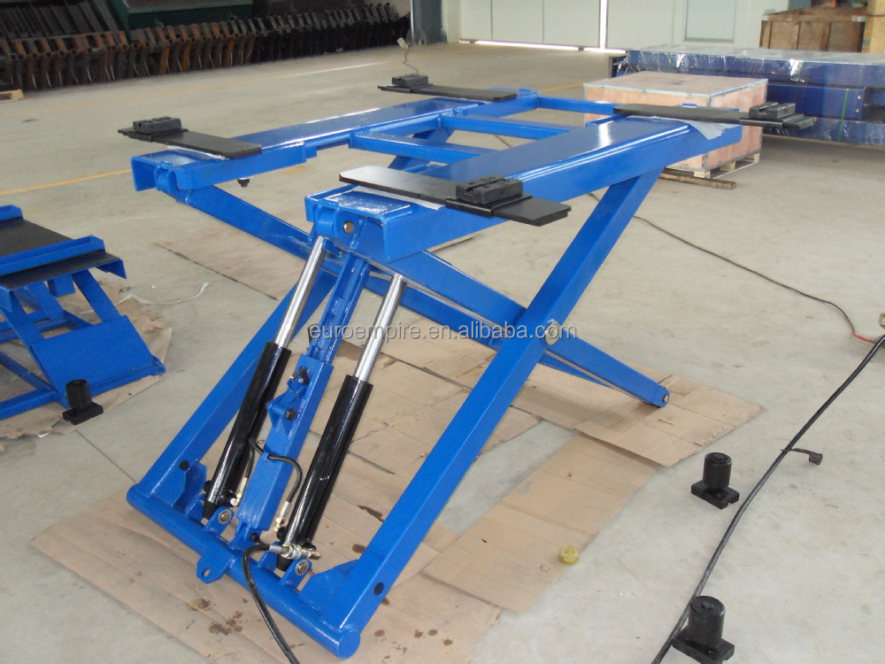 Hydraulic Auto Lifts : Kg lb paypal double cylinder hydraulic electric