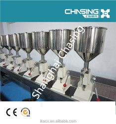 High precision filling cream manual cosmetic tubes filling machines