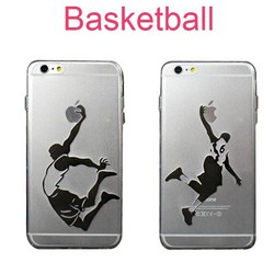 Sports Basketball NBA Crystal Clear TPU Silicone Soft Phone Case For iPhone 6