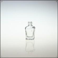 Barato venta al por mayor esmalte de uñas / 9 ml 8 ml 13 ml de vidrio limpio botellas de esmalte de uñas venta al por mayor / nail cristal vacía botellas de esmalte de uñas