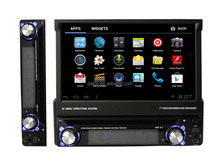 Detachable panel single din car DVD with GPS 3G WIFI BT IPOD