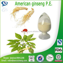 100% Pure High quality natural herb extract American ginseng P.E.