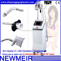 3in1 Cavitation ultrasonic rf fat melting cool cryolipolysis cold sculpting equipment