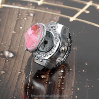 2015 hot selling item quartz finger ring watch for promotional gift