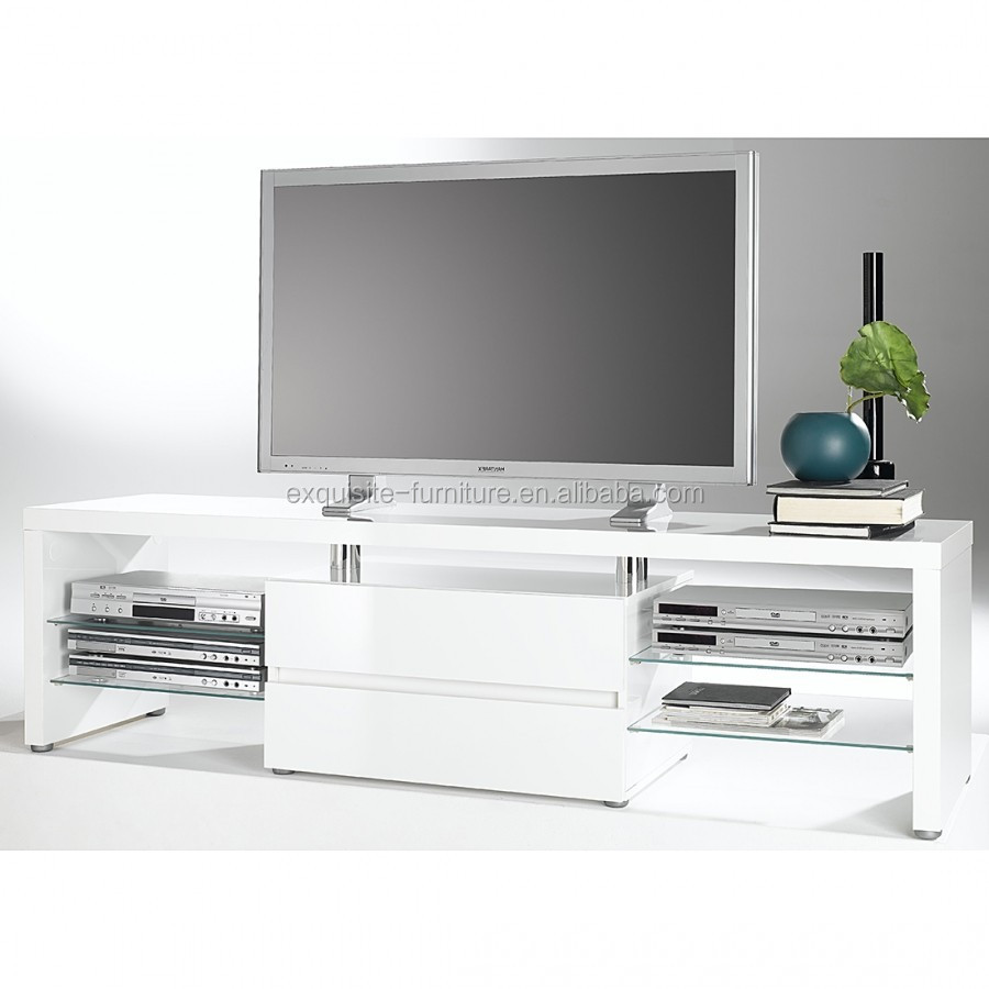 Modern White Or Black High Gloss Wooden Tv Cabinet In Living Room Buy Sheesham Wood Tv Cabinet