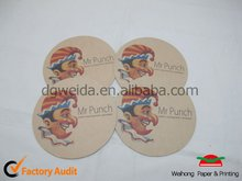 2012 Absorbent Recycle paper coaster