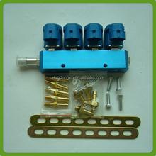 De China proveedor Lpg / gnc rampa de inyección del inyector del carril para Lpg / gnc sistema de inyección secuencial