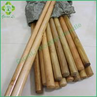 wholesale wooden broomstick varnished broom handle for grass broom