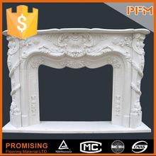 High density housing architecture modern floral fireplace surround