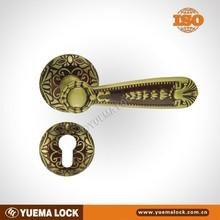 High Class Brass Spit Panel 6085 Mortise Door Locks Rose Gold finish