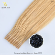 China Supplier No Heat No Glue Safe Healthy micro cylinder hair extensions hair