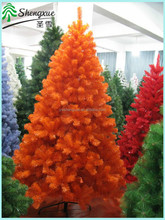 2014 New Design Outdoor Decorative Christmas Tree Orange Color