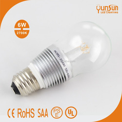 7w e27 3 lens patented LED bulb 360 degree,E14 led bulb lamp,e27 led bulb for sale