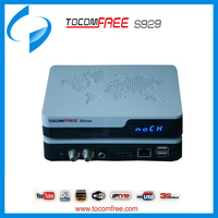 Full HD Tocomfree s929 decodificador satelital hd wifi for South America