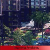 residential building community center plan
