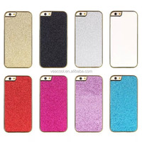 """Chrome Jewelled Bling Sparkle Glitter Back Case Cover for Apple iPhone 6 4.7""""/ Plus 5.5"""""""