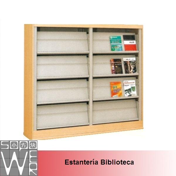 estante para libros para bibliotecas publicas with mueble para libros