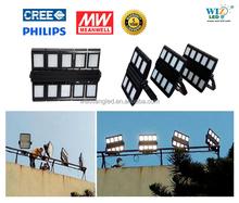 WEIXIANG powerful outdoor LED floodlight, 500 watt led flood light soccer field, out door 400w led flood light stadium lighting
