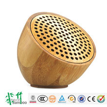 2014 hot selling Natural Bamboo Speaker bluetooth bamboo speaker