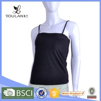 short deliverty time classical lining cotton hand wash workout tank top
