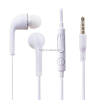 promotion cheap samsung earphone opp bag no logo wired earphone